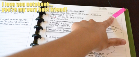 ARC Notebook - Small Business Tips to Get Organized