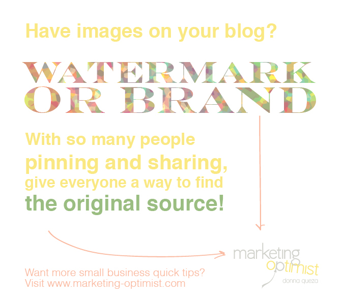 Why You Should Watermark Your Images – Wednesday Quick Tip